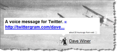 Play a Twittergram