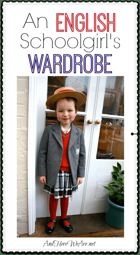 An English Schoolgirl's Wardrobe