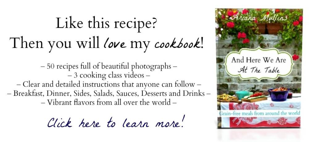 And Here We Are Cookbook Ad