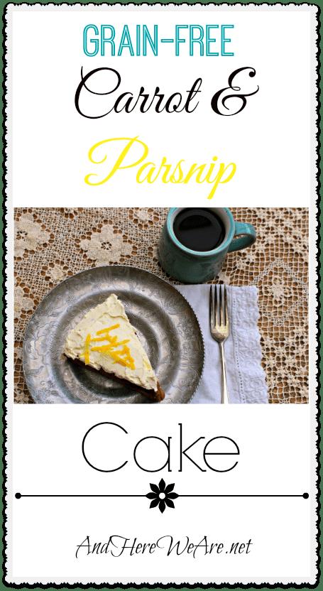 Grain-Free Carrot & Parnsip Cake
