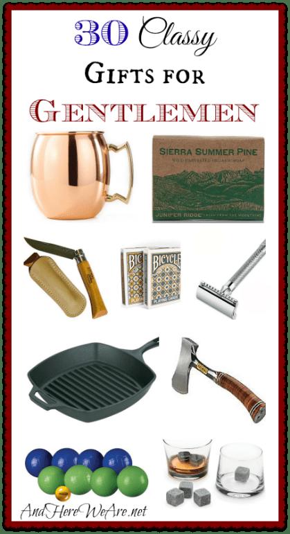 Classy Gifts for Gentlemen