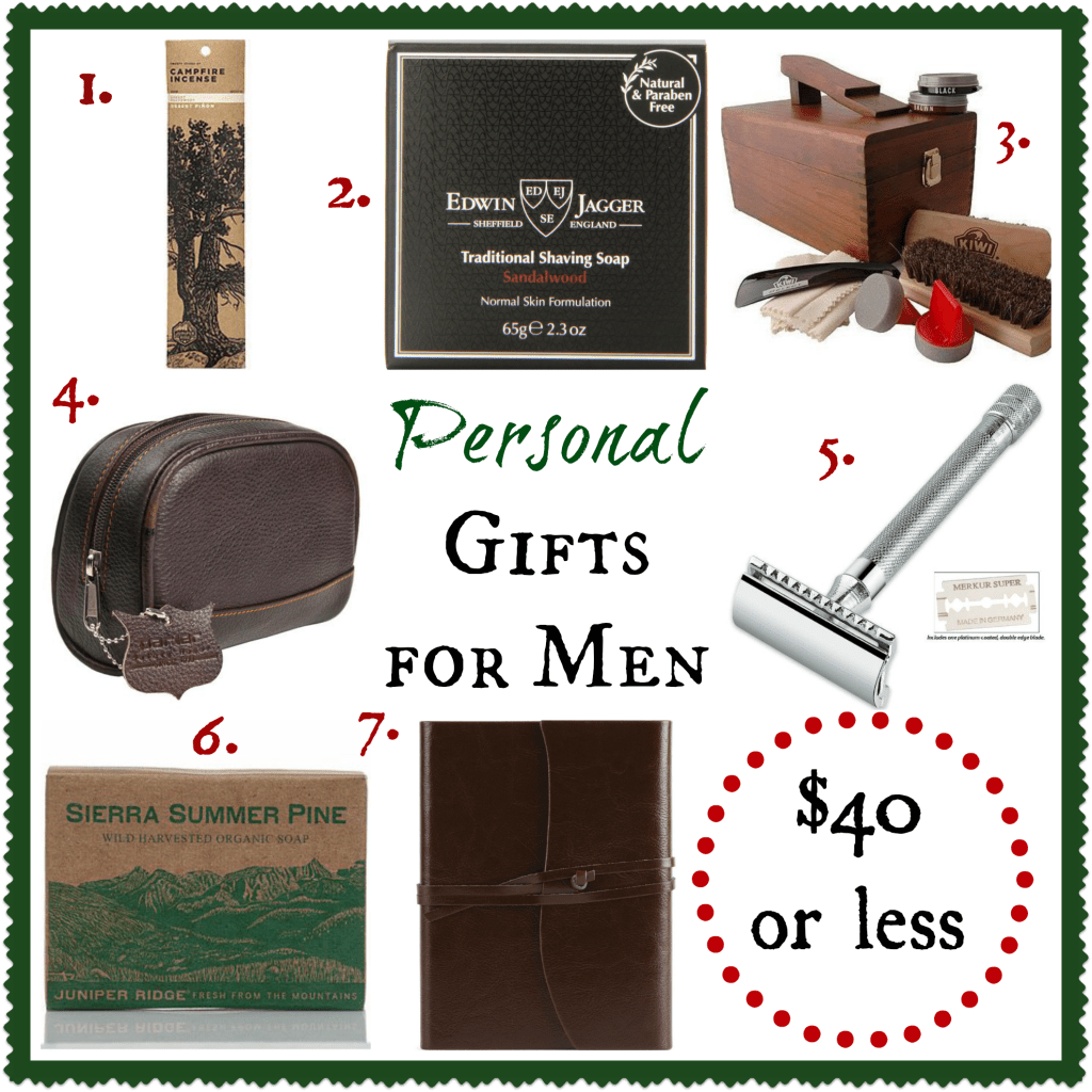 Personal Gifts for Men