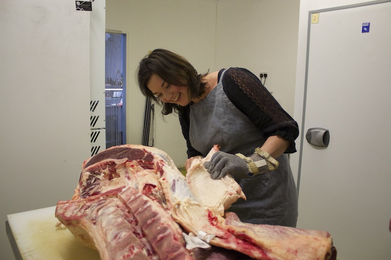 Lessons From My Butcher Breaking Down A Hind Quarter Of