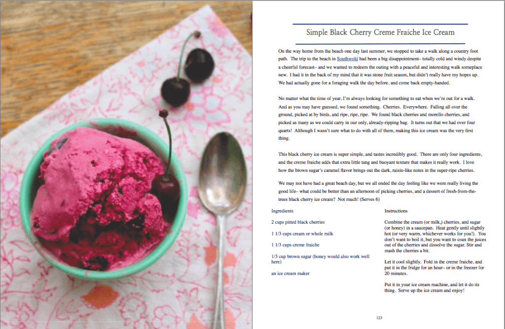 Black Cherry Ice Cream Recipe