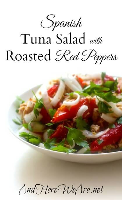 Spanish Tuna Salad with Roasted Red Peppers