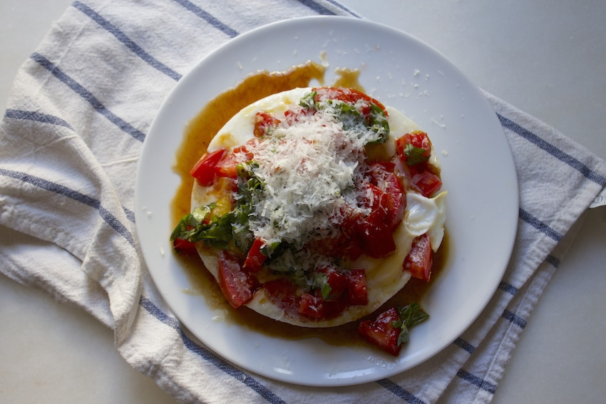 Eggs with Bruschetta | And Here We Are...