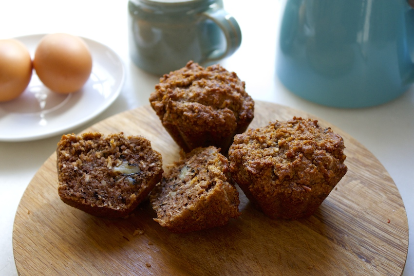 Banana Nut Muffins (Grain-free)