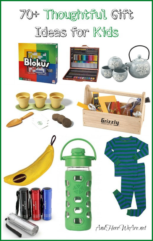 70+ Thoughtful Gift Ideas for Kids