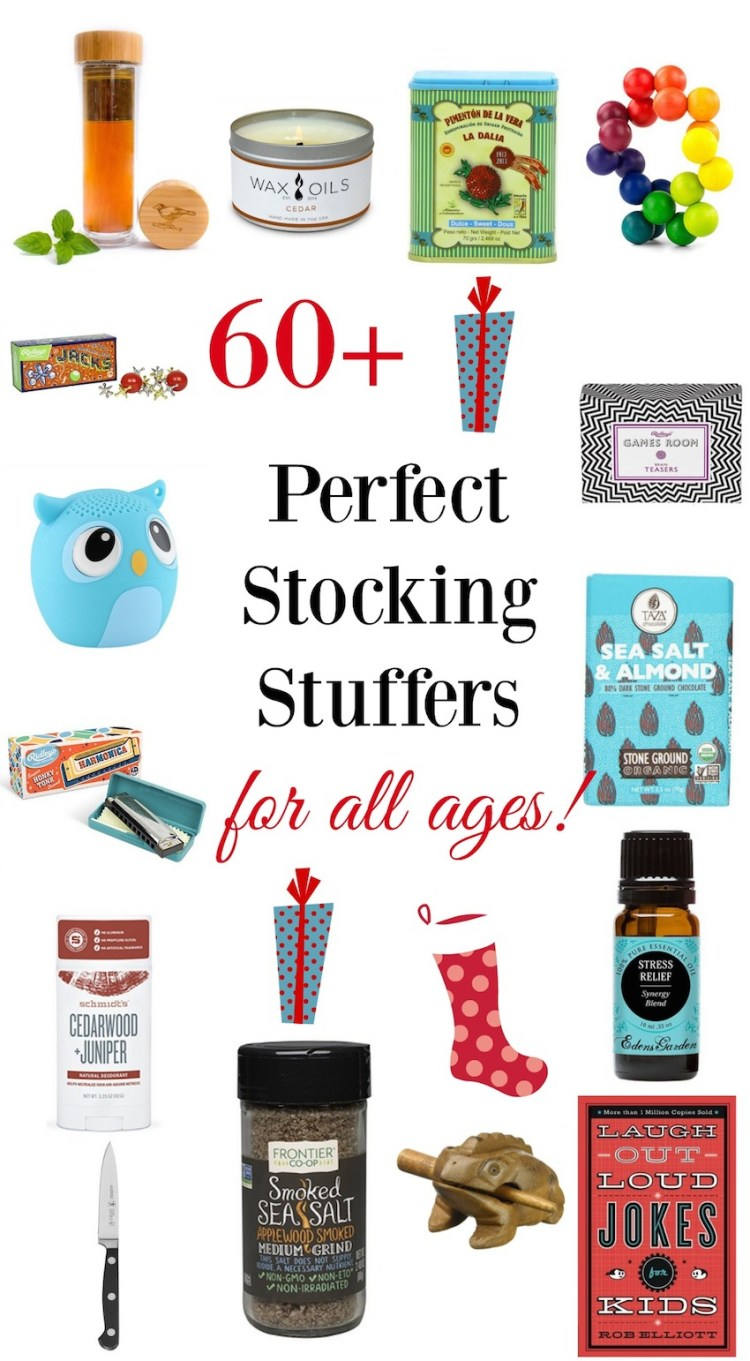 Stocking stuffer ideas for all ages