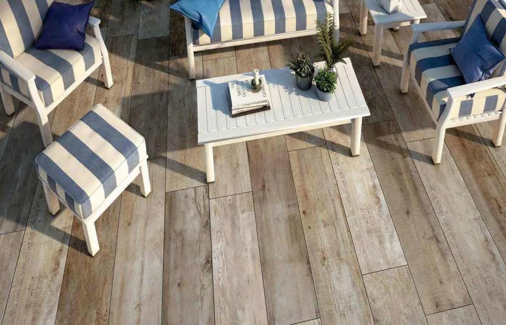 Pavimento per esterni effetto legno daylight nn 01 u003e andhome by deprà