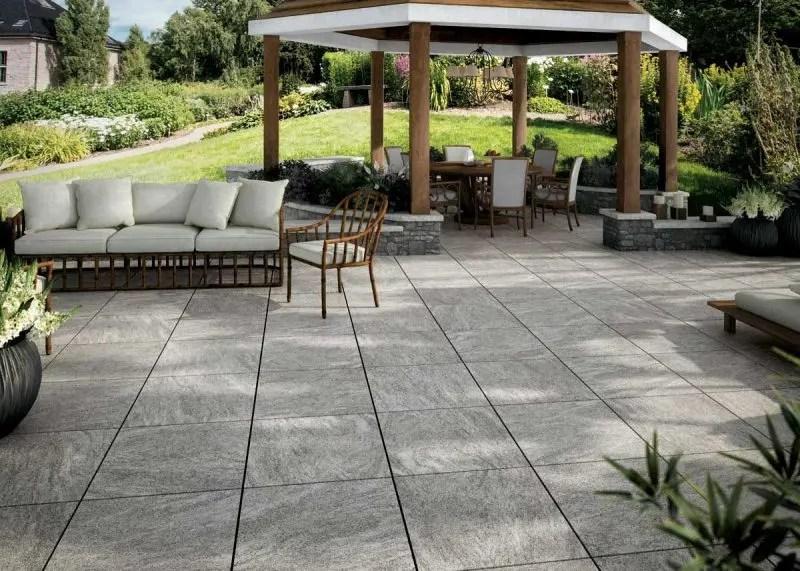 Pavimenti Esterni Patio : Pavimenti per esterno effetto pietra swiss grey ne u e andhome