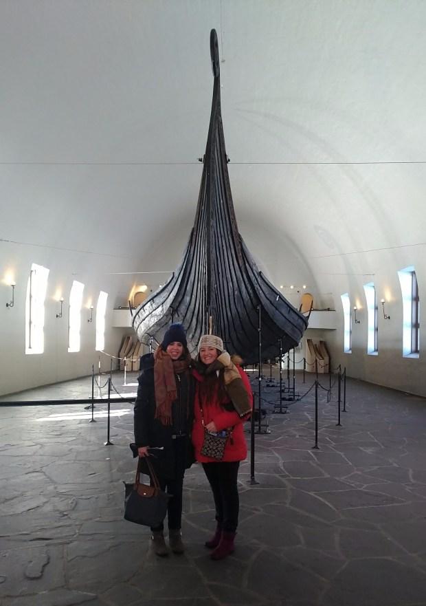 at the Viking Ship Museum, Oslo