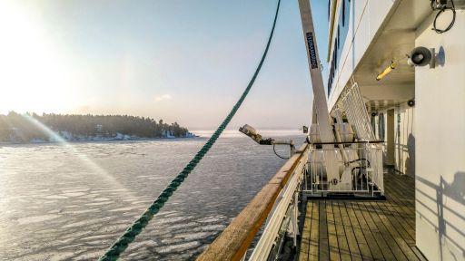 Helsinki, Finland from the ferry