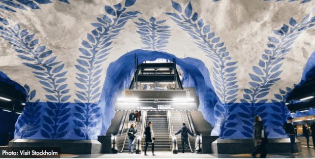 T-Centralen Station in Stockholm, Sweden (property of Visit Sweden)