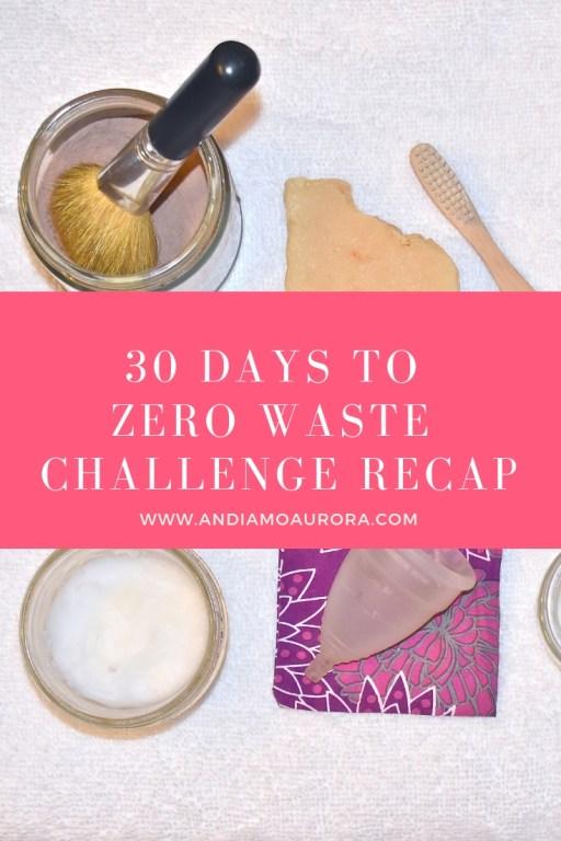 30 days to zero waste challenge