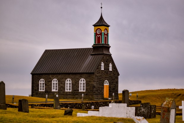 Hvalsneskirkja | REYKJANES PENINSULA TRAVEL GUIDE AND ITINERARY | www.andiamoaurora.com | Explore Iceland's Reykjanes Peninsula with a one-day road trip with more than 20-must see sites