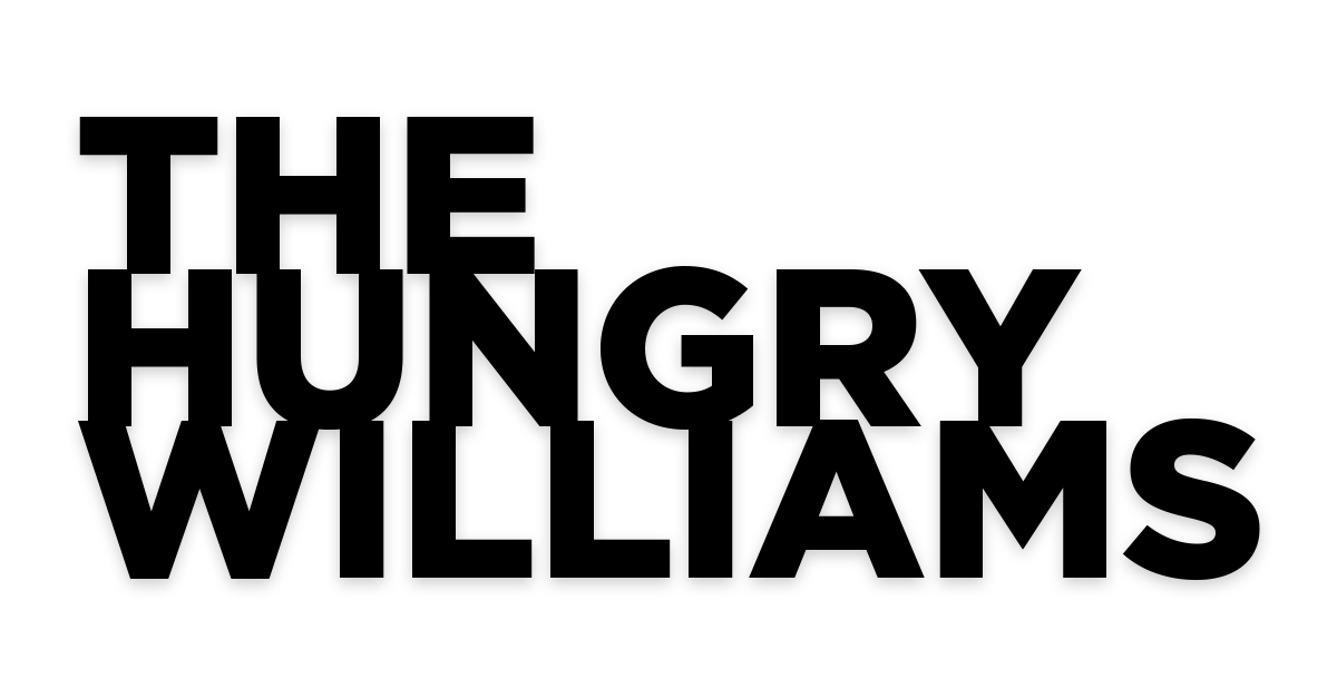 The Hungry Williams Logo Type
