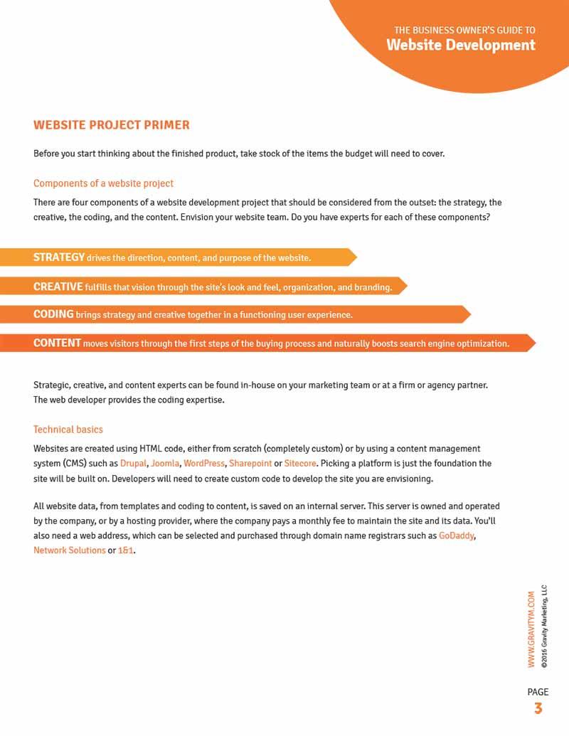 Infographic for Marketing Leadership Series - Andiamo Creative