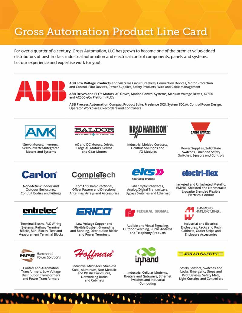 Industrial Part Distributors Line Card And Folder Andiamo Creative Baldor High Voltage Low Wiring Category