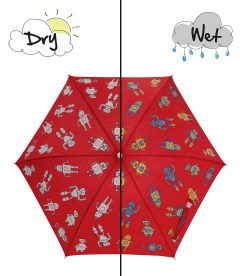 Hollyandbeau Robot umbrella wet and dry H&B