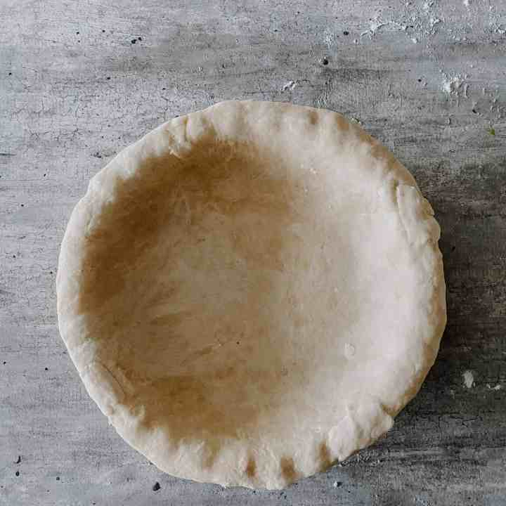 Flaky Homemade Pie Crust (Makes Two)