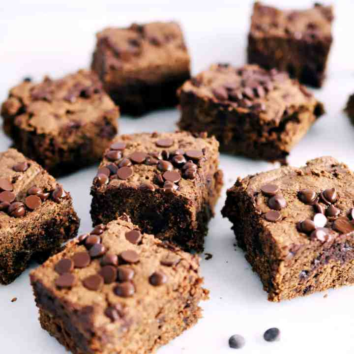 Nut or Seed Butter Oat Brownies