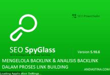 Cara Mengelola Backlink Menggunakan SEO SpyGlass