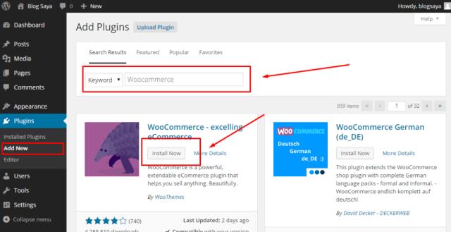 Toko Online dengan WordPress & WooCommerce