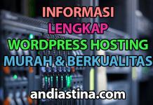 informasi wordpress hosting