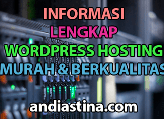 informasi wordpress hosting