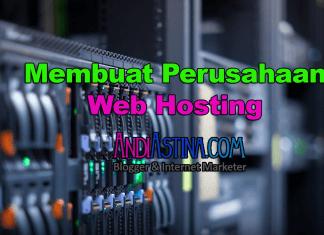 Membuat Perusahaan Web Hosting