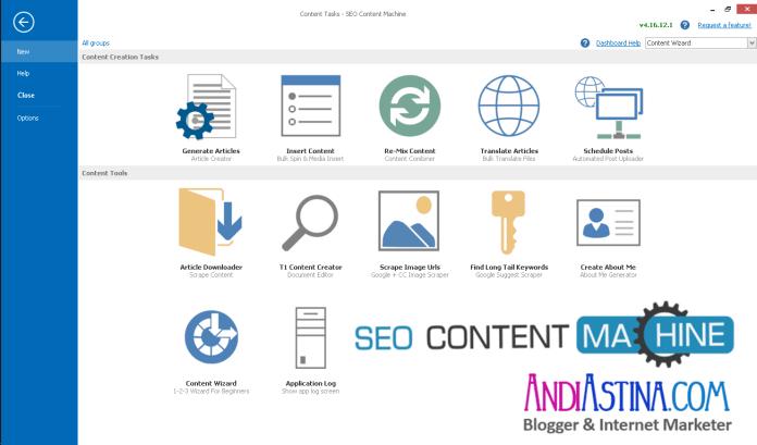Reviews Cara Menggunakan SEO Content Machine