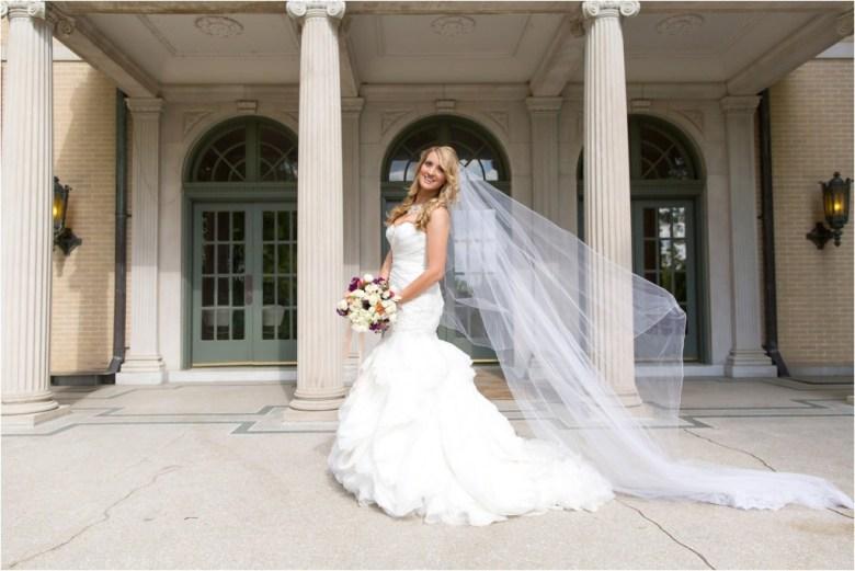 Tulsa Garden Center Bridal Session
