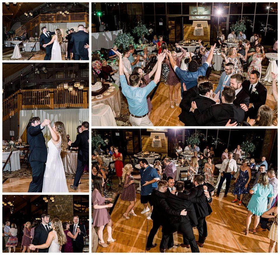 Wedding reception dancing at PostOak Lodge in Tulsa, OK| Tulsa Wedding Photographer| PostOak Lodge Wedding| Destination Wedding Photographer| Andi Bravo Photography