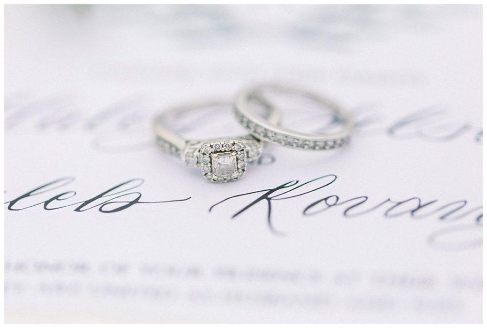 Wedding rings| The View At Hillside Barn Wedding| Countryside Wedding|  Tulsa Wedding Photographer| Andi Bravo Photography