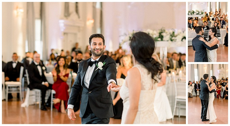 Groom dances with mother at wedding reception| The Mayo Hotel| Tulsa wedding photographer| Andi Bravo Photography