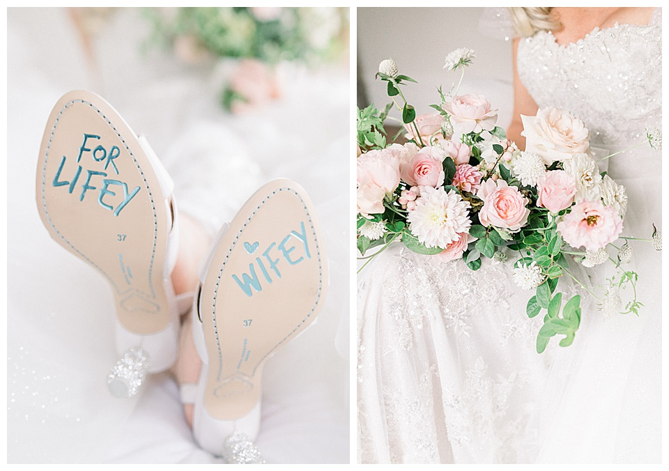 Wifey for Lifey creative ideas to incorporate into bridal portraits!