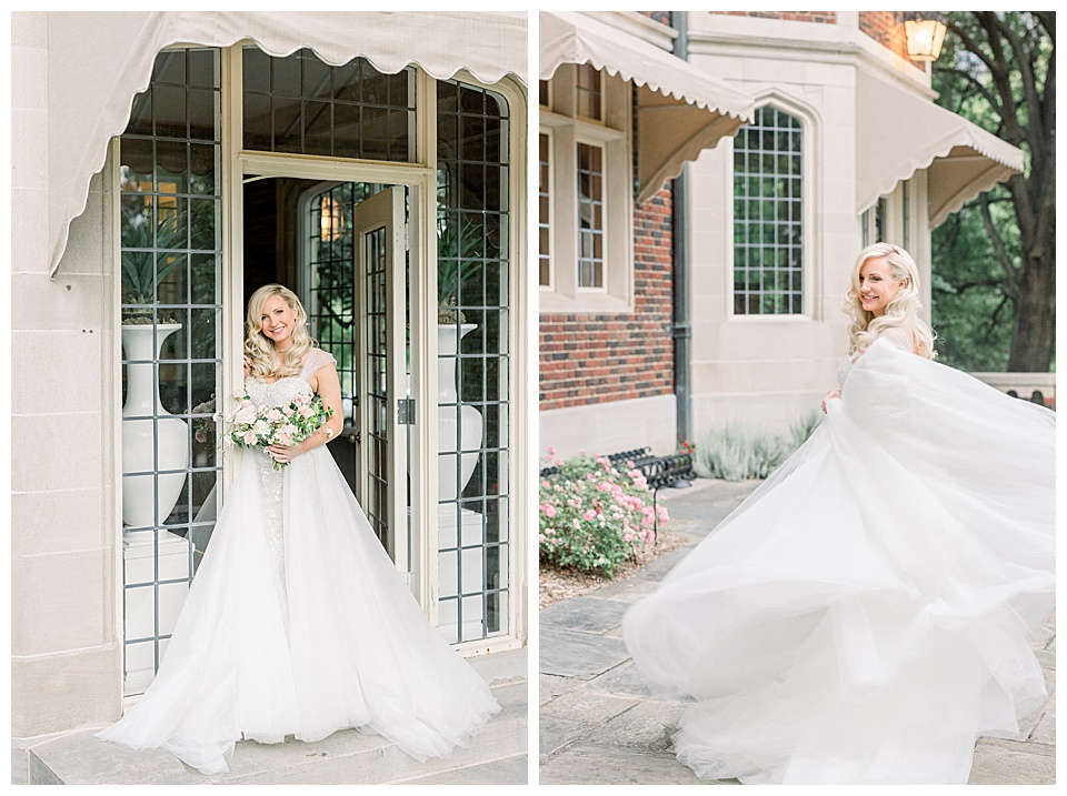 Beautiful outdoor wedding portraits for Bridal Session