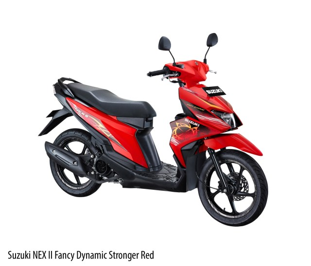 andikaDiego wordpress Suzuki NEX II Fancy Dynamic Stronger Red