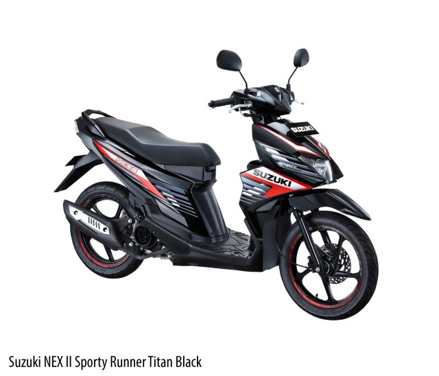 Andikadiego wordpress Suzuki NEX II Sporty Runner Titan Black