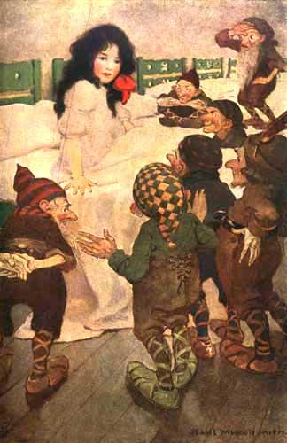 Albă ca zăpada şi cei şapte pitici
