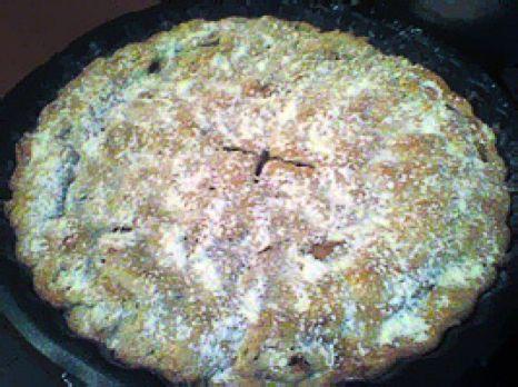 Plăcintă pudrată, gata de ieșit în lume