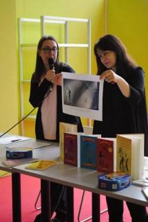 Cu Sara Salone la Salonul de carte de la Torino, 2016