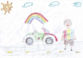 Carina Boca, 7 ani