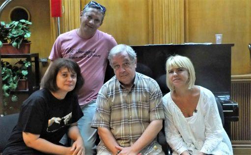 Alături de Mihnea Chelariu, Mihai Lungeanu și Irina Soare