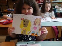 """O ilustratoare talentată și """"cățelușa ei cea bună"""""""