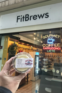 And I Like It mini keto cheesecakes are available for retail sales at FitBrews located inside the Plaza of the Americas in Dallas Texas. Temporarily Closed due to Covid-19