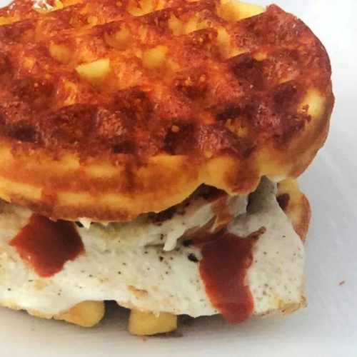 Keto, Gluten-Free, Low-Carb Chaffle