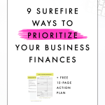 9 Surefire Ways to Prioritize Your Business Finances