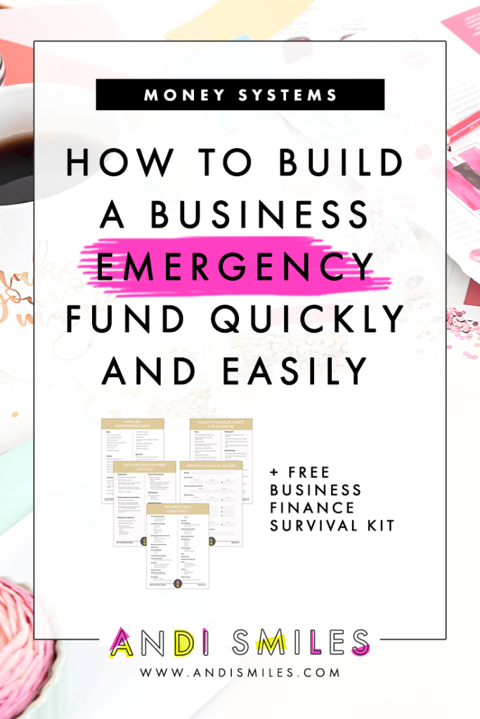 A business savings and business emergency fund are crucial for ensuring a long, happy life for your business. But how do you build a business savings account when you've got bills bill bills to pay? In this video I'm teaching you how to build your business savings and emergency fund. #businessfinance #smalbusiness
